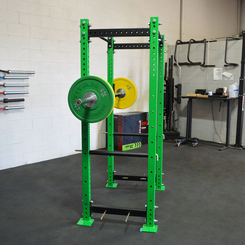 "T-3 Series Tall Power Rack | 24"" Depth | Envy Green"