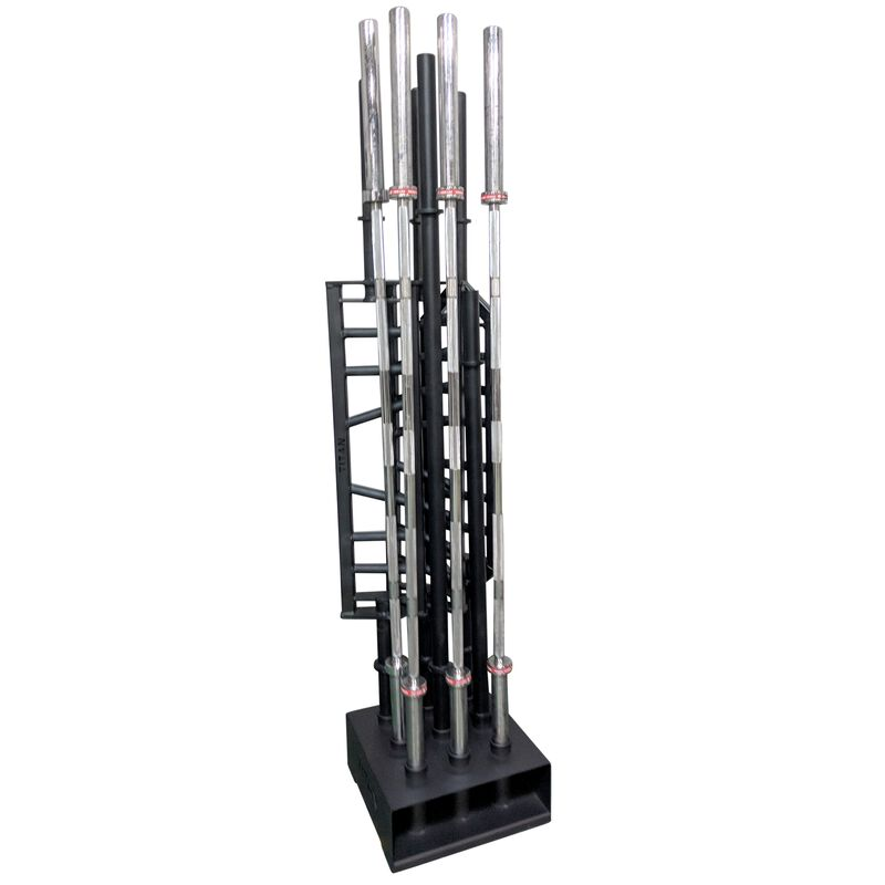 "9 Bar Olympic Barbell Holder Vertical Storage Rack 19"" x 19"""