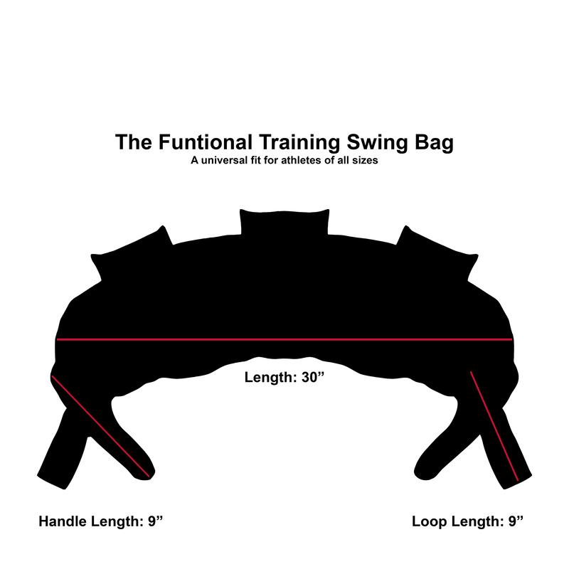 Functional Training Swing Bag   25 LB