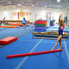 Jr. Gymnastics Balance Beam | 8' Folding | Red