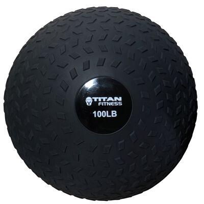 100LB Titan Fitness Slam Ball Rubber