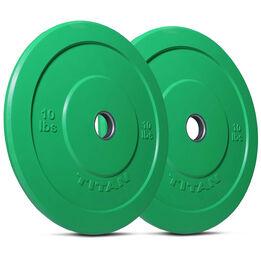 10 LB Pair Economy Color Bumper Plates
