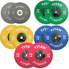 Elite Olympic Bumper Plates | Color | 340 LB Set
