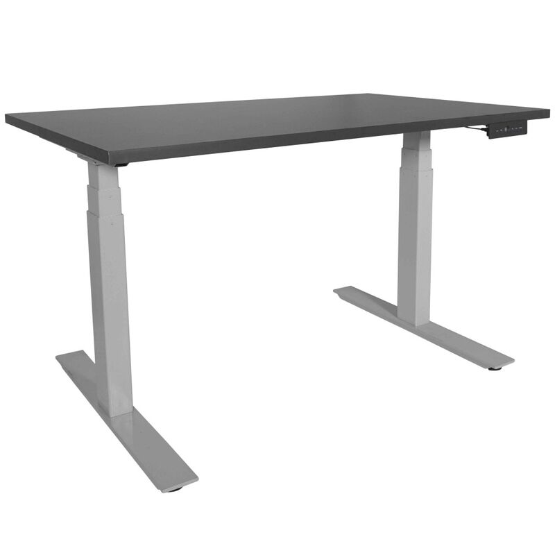 Pleasant Dual Motor Electric Adjustable Height A6 Sit Stand Desk Download Free Architecture Designs Licukmadebymaigaardcom