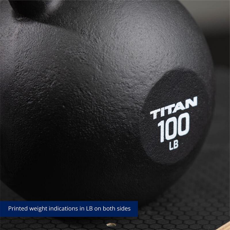 100 LB Cast Iron Kettlebells