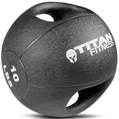 10lb Dual Grip Medicine Ball