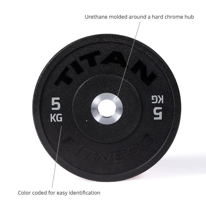 5 KG Pair Color Urethane Bumper Plates