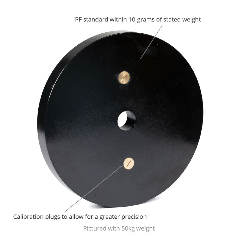 Blemished Calibrated Steel Plates