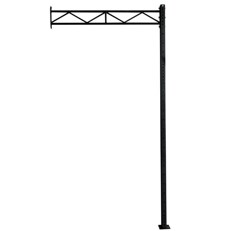 "12' X-3 Wall Mount Rig Upright w/ 70"" Crossbrace"