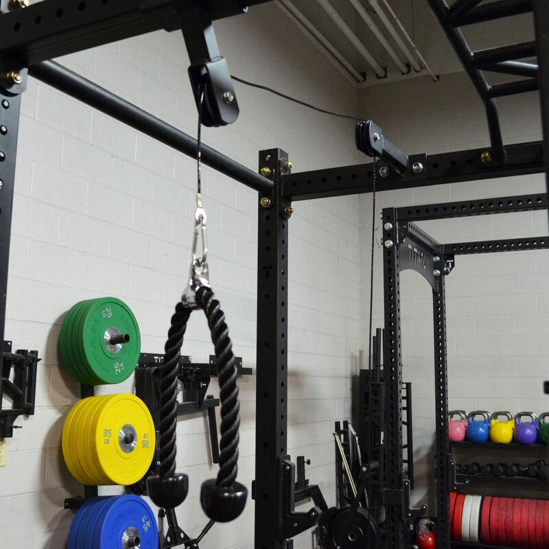Tricep and Lat Pulley System for X-3