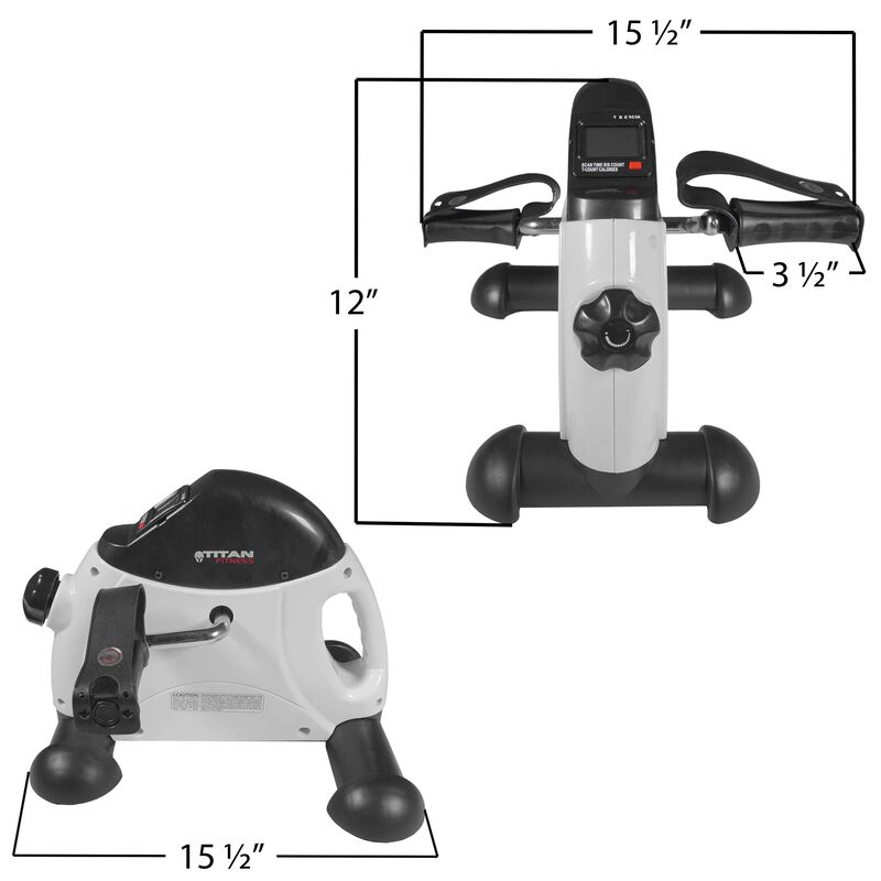 Mini Pedal Exercise Bike w/ LCD Display
