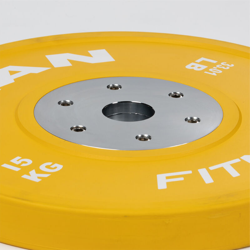 15 KG Single Elite Color Olympic Bumper Plate