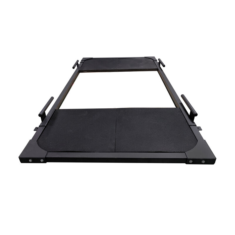Deadlift Frame with 4 Rubber Tiles