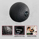 60 LB Rubber Tread Slam Ball
