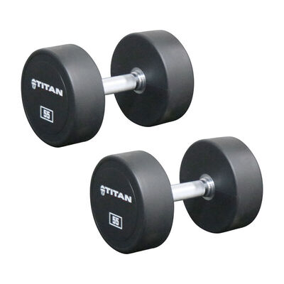 Urethane Dumbbells | 55 LB | Pair