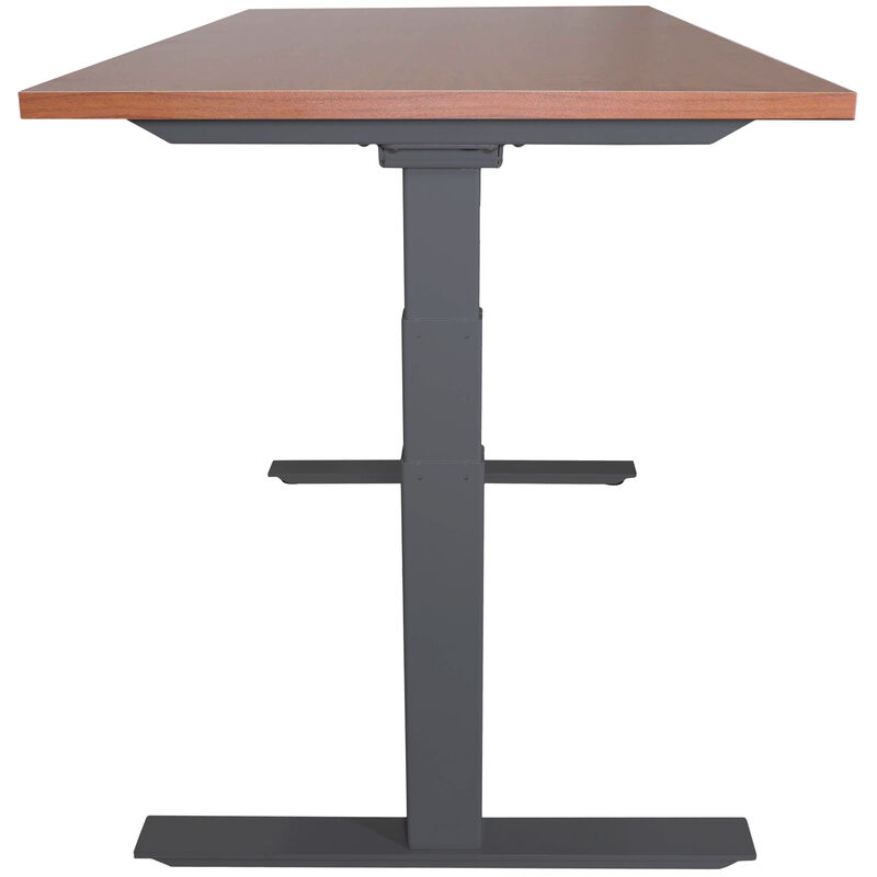 "A6 Adjustable Sit To Stand Desk 24""- 50"" w/ Wood 30"" x 48"" Top"