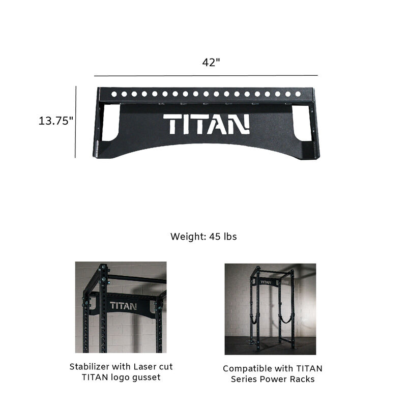 TITAN Series 42-in Nameplate Crossmember