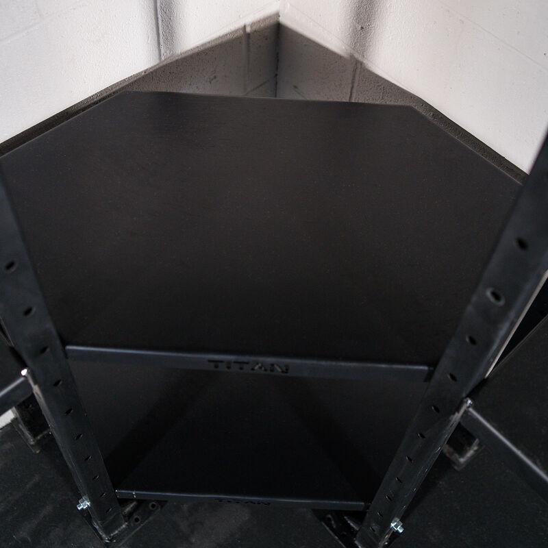 3-Tier Mass Storage Corner Shelf
