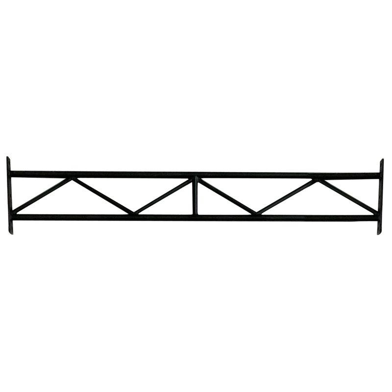 "12' X-3 Wall Mount Rig Upright w/ 70"" Crossbrace"