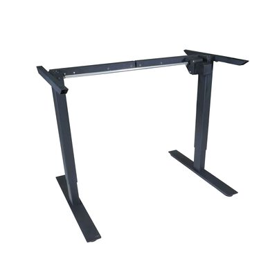 Scratch and Dent - Single Motor Electric Adjustable Height A2 Sit-Stand Desk (Black) - FINAL SALE