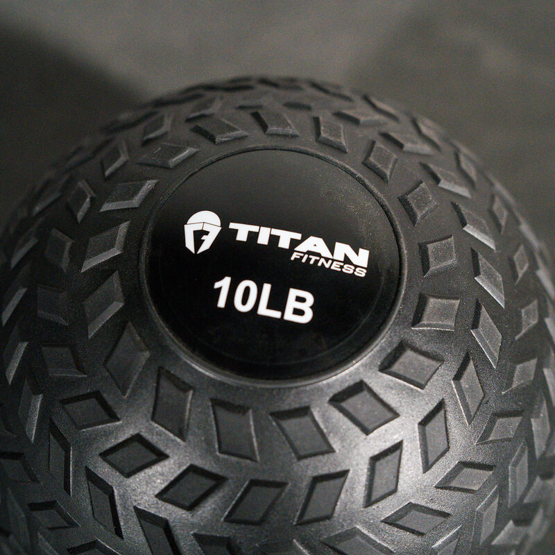 10 LB Rubber Tread Slam Ball