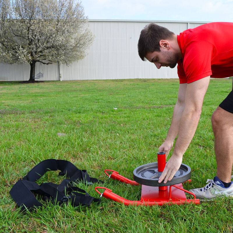 Power Speed Sled with Deluxe Harness