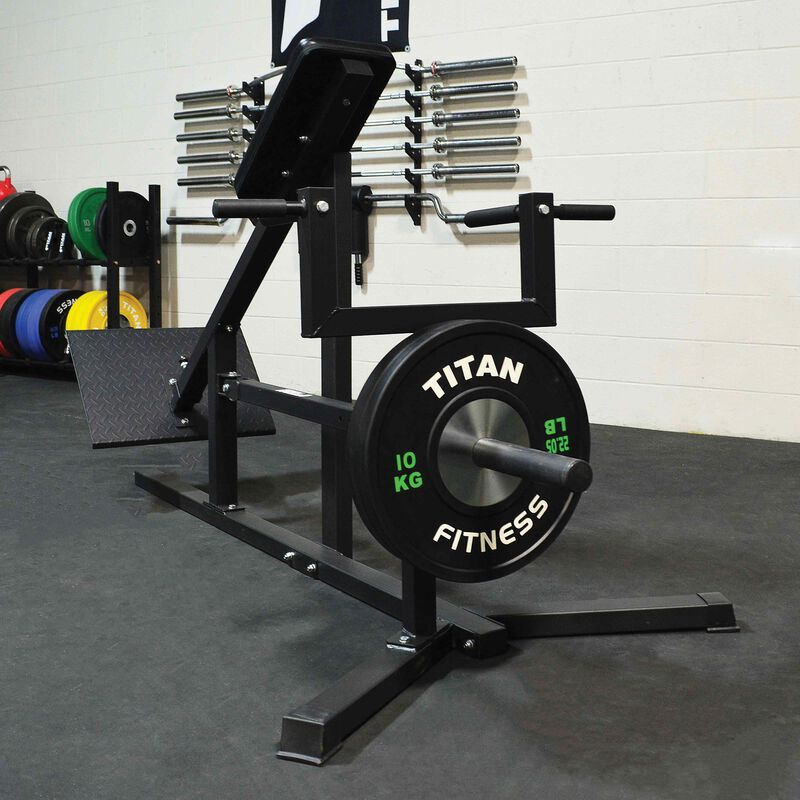 Chest Supported T-Bar Row Machine | Adjustable