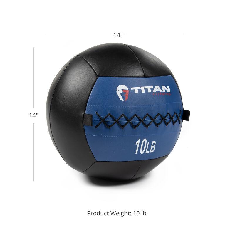 10 LB Soft Leather Medicine Wall Ball