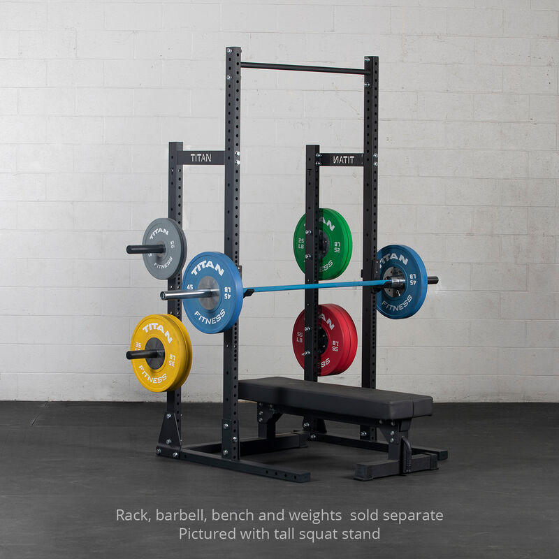 T-3 Series Half Rack Conversion Kit with Weight Plate Holders