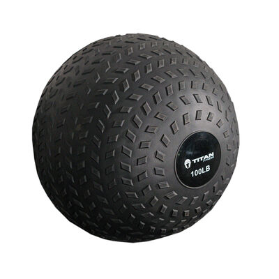 100 LB Rubber Tread Slam Ball