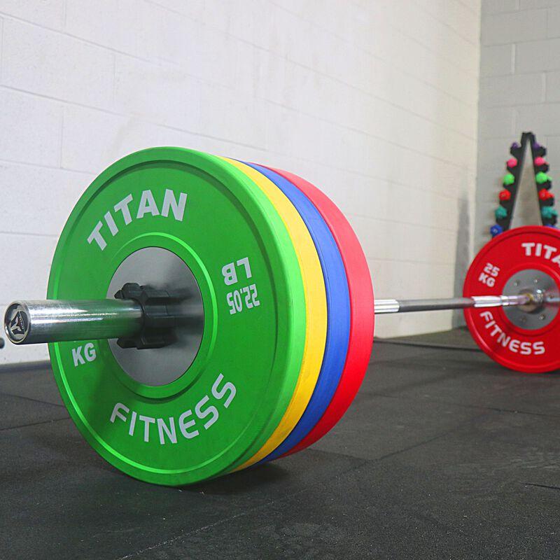 10 KG Pair Color Elite Olympic Bumper Plates