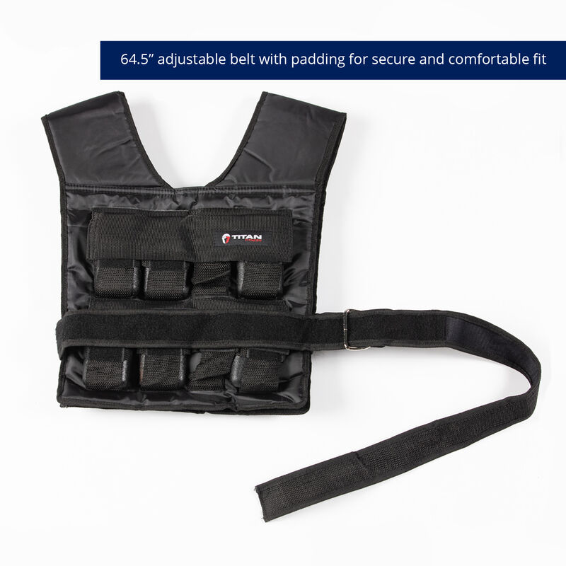 30 LB Adjustable Weighted Vest