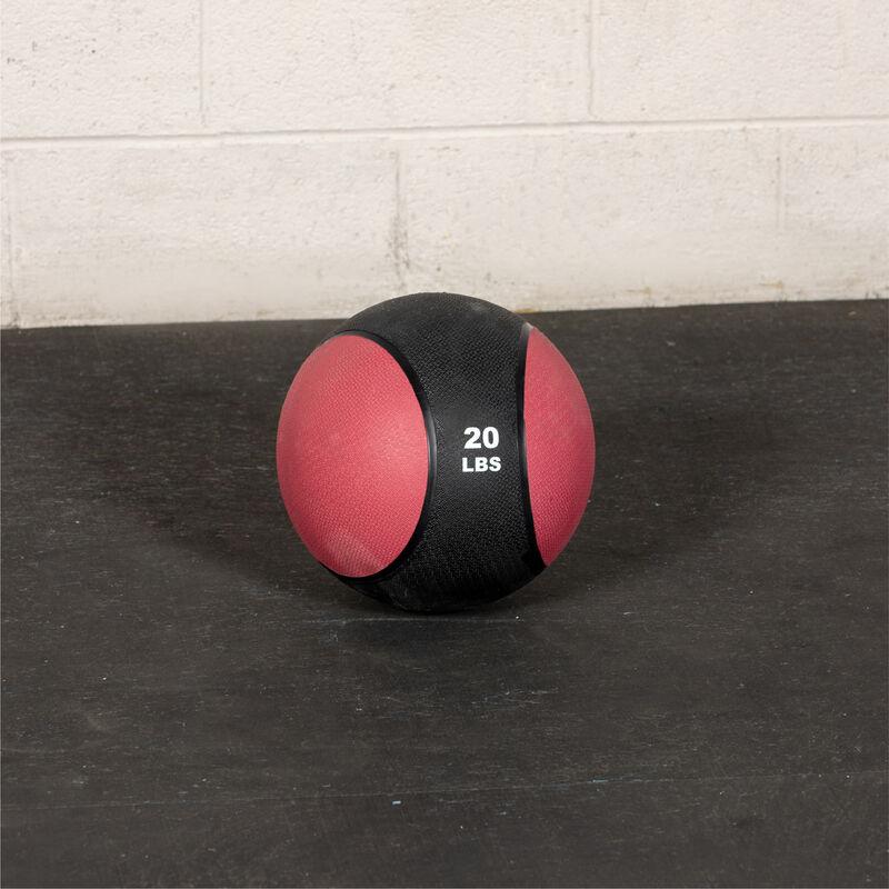 20 LB Rubber Medicine Ball