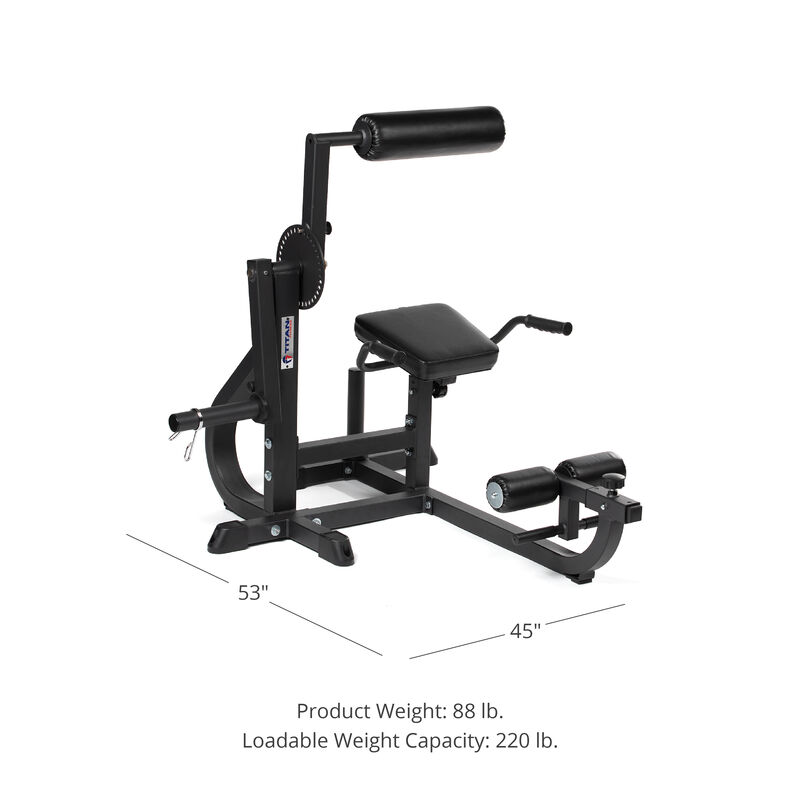 Seated Ab / Back Extension Machine