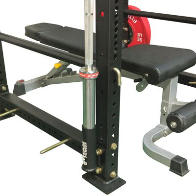 Vertical Mount Barbell Holder for X-3 Power Rack