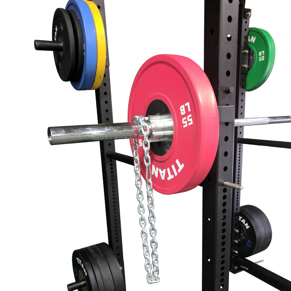 50lbs Heavy Lifting Workout Galvanized Power Crossfit Barbell Chains