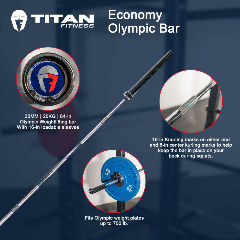 Economy Olympic Bar – 84-in