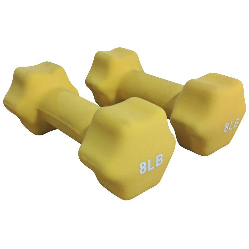 Neoprene Light Weight Dumbbell Set - 8, 9, 10 LB