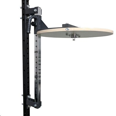 Power Rack Mounted Adjustable Speed Bag Platform