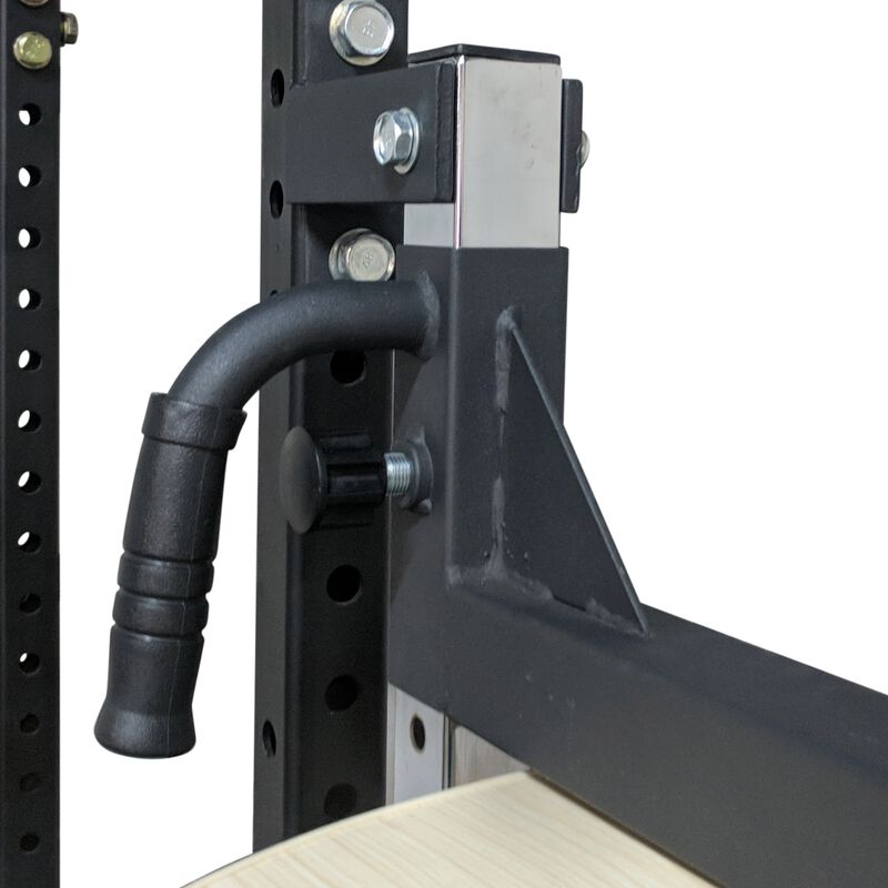 Power Rack Mounted Adjustable Speed Bag Platform