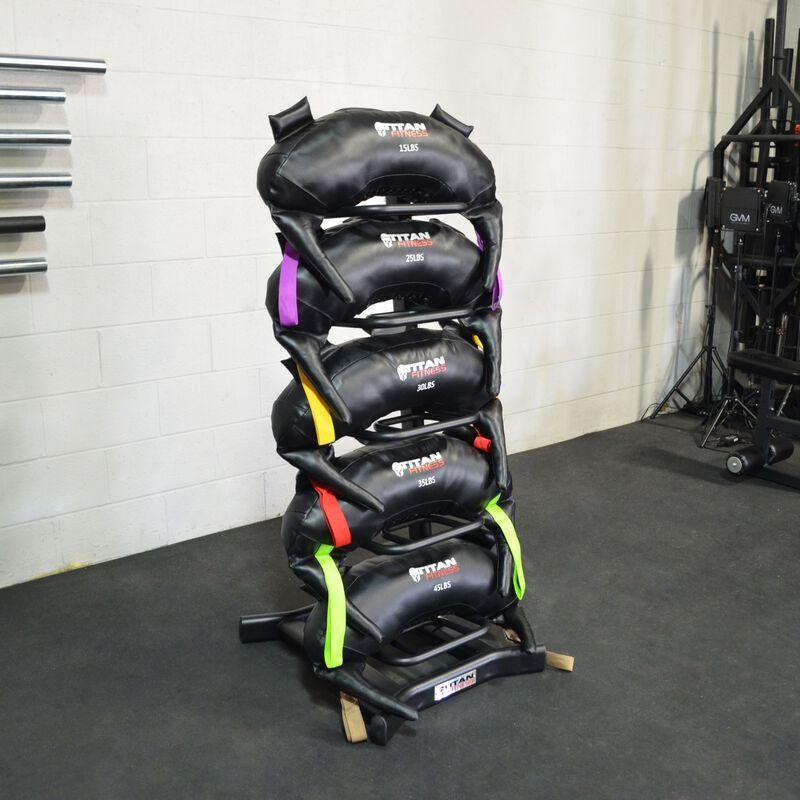 Functional Swing Bag Rack