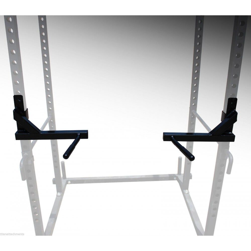 Titan T-2 Series Power Rack Dip Bars Squat Deadlift Cage Bench stand pull up