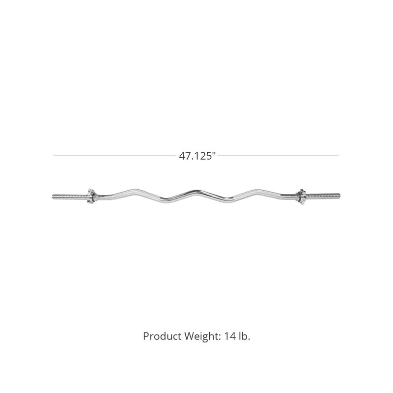 48-in Curl Barbell