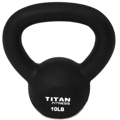 Cast Iron Kettlebell Weight - 10 lbs