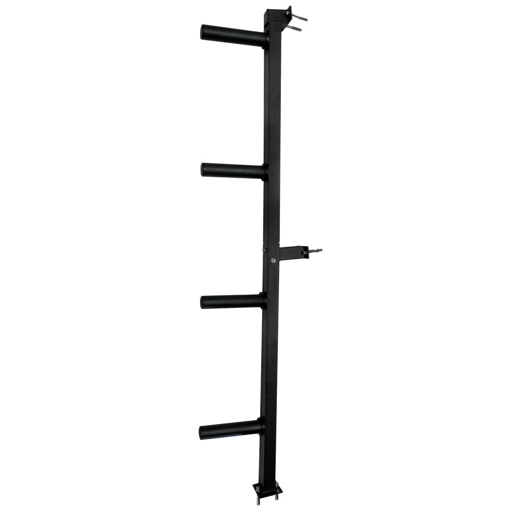 Wall Mounted 4 Peg Olympic Bumper Plate Weight Rack