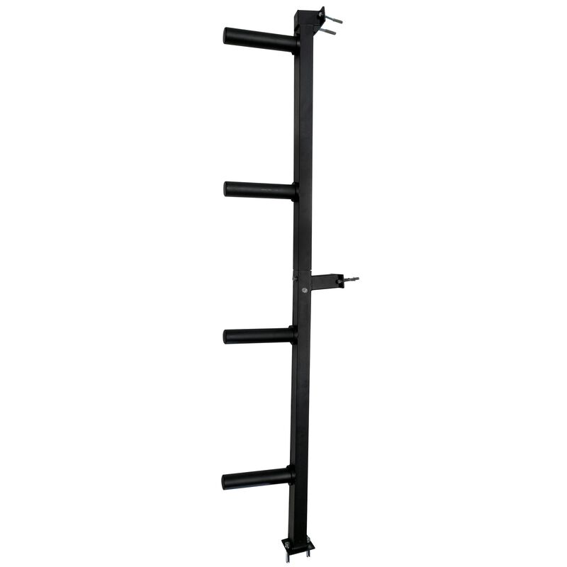 Wall Mounted 4-Peg Olympic Bumper Plate Weight Rack