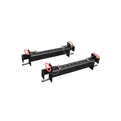 Pair of Upright Farmers Walk Handles Link Connectors