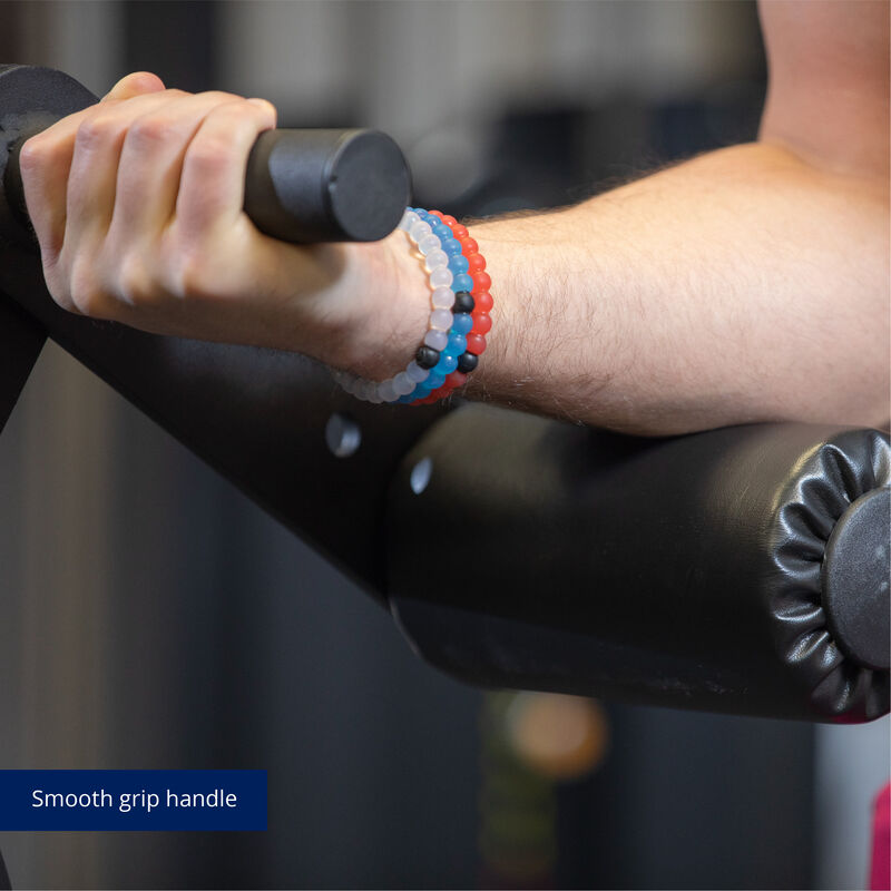 Plate-Loaded Lever Curl Dumbbell