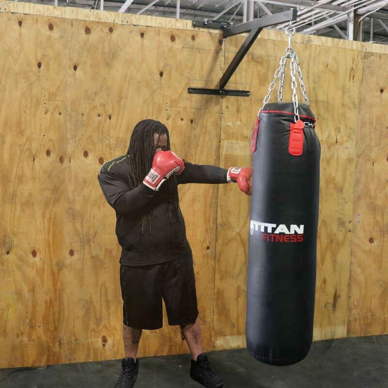 Wall Mounted Heavy Bag Boxing Mount | Foldable