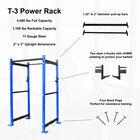 "T-3 Series Short Power Rack | 36"" Depth | Royal Blue"